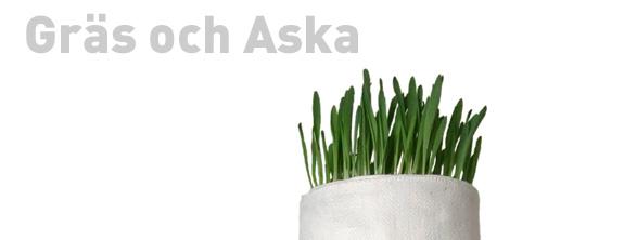 gräs och aska
